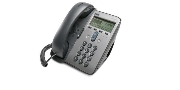Cisco IP Phone 7911G - VoIP-telefon - SCCP - mørkegrå