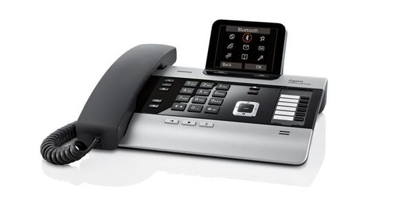 SIEMENS Gigaset DX800A All in One bordtelefon med DECT og svarer