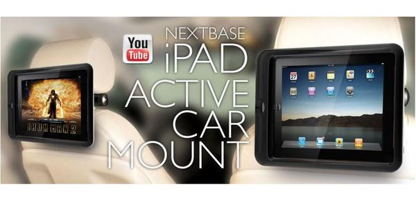 NextBase iPad I Active Car Mount Click&Go Stanchion Mount