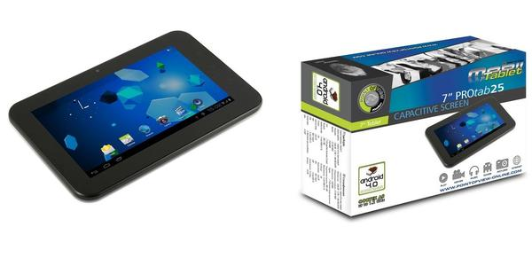 "Point of View TAB-PROTAB25 7"" tablet med Android 4.1 Jelly Bean"