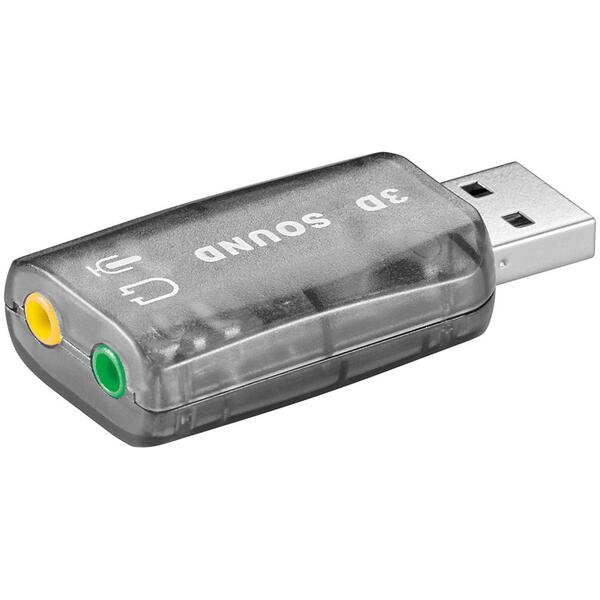 USB 2.0 Soundcard - Lydkort Adapter til PC / Mac 68878