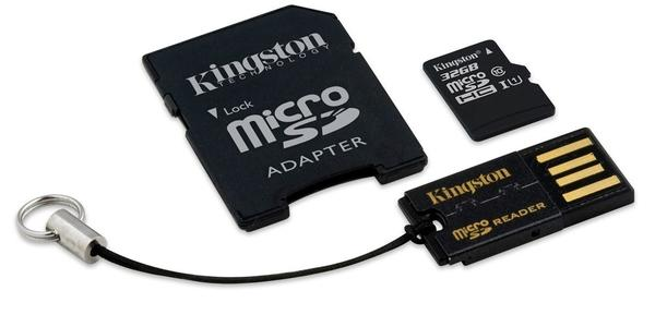 Kingston 32GB micro SD HC Hukommelseskort Class 10 - MBLY10G2/32GB