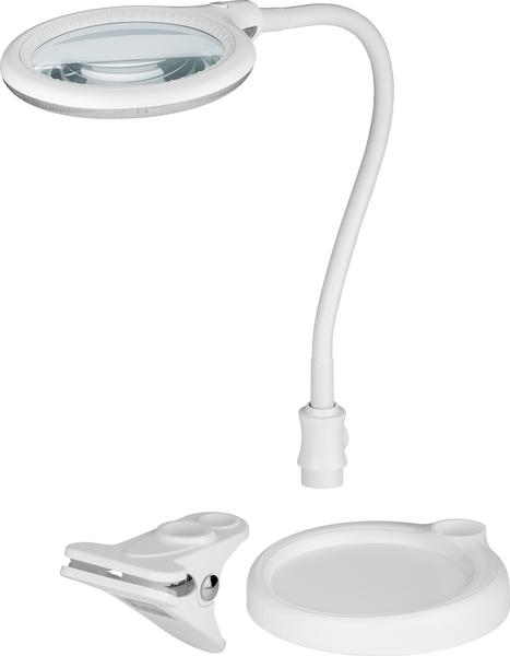 Fixpoint LED Luplampe 5W, 3 dioptri - 44872
