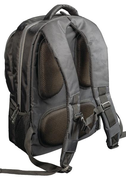 "Bærbar Backpack 15-16"" Polyester Sort/Antracit CSNBBP100BL"