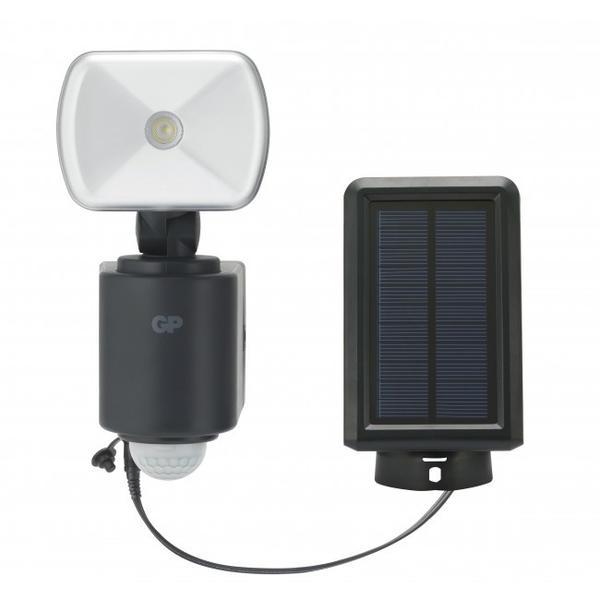 Udendors lampe med solcelle og sensor Safeguard RF3 1H