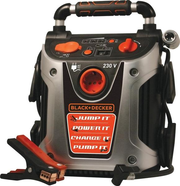 Black And Decker - Jumpstarter med indbygget kompressor