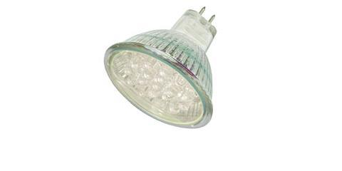 LED spotlight LED SPL MR16 varm hvid 24 LEDs 200 LUX 30257