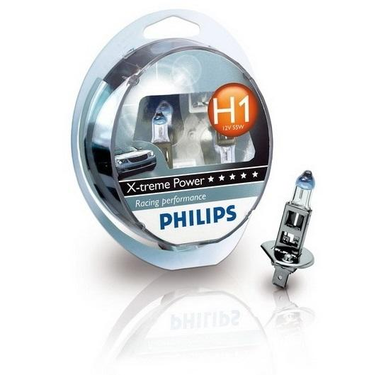 PHILIPS X-treme Power H1 12V 55W P14.5S H1 12258XP (2 stk)