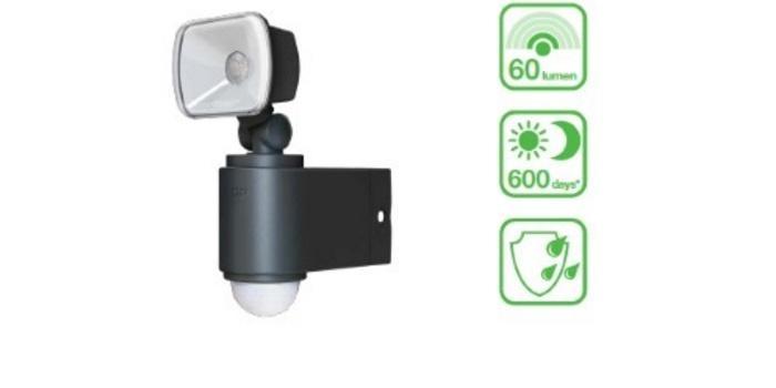 Safeguard RF1 1 Udendorslamper med sensor batteri