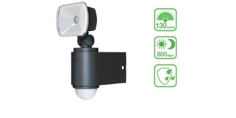 Udendors led lampe med sensor batteri Kob kun 379,00