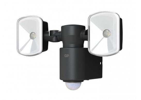 Safeguard RF4 1 kraftig udendors LED lampe med sensor