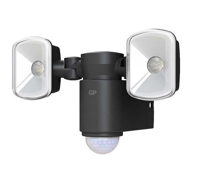 Udendørslamper Med Batteri Og Sensor - Safeguard RF2 1 Udendors sensorlampe med batteri LED